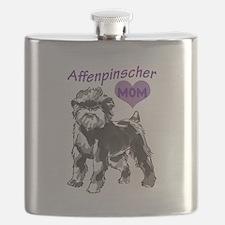 AFFENPINSCHER MOM Flask