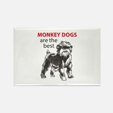 MONKEY DOGS Magnets