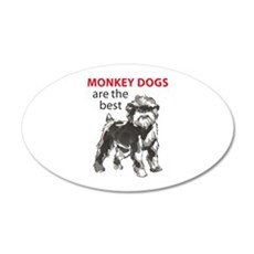 MONKEY DOGS Wall Decal