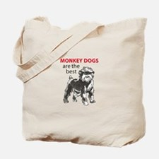 MONKEY DOGS Tote Bag