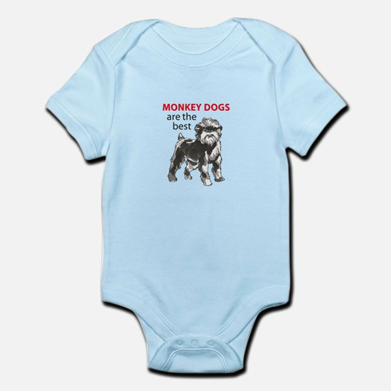 MONKEY DOGS Body Suit