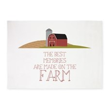 Farm Memories 5'x7'Area Rug
