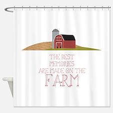 Farm Memories Shower Curtain