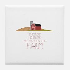 Farm Memories Tile Coaster