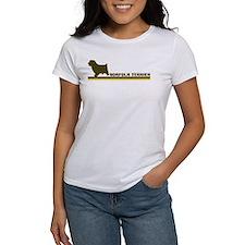 Norfolk Terrier (retro-blue) Tee
