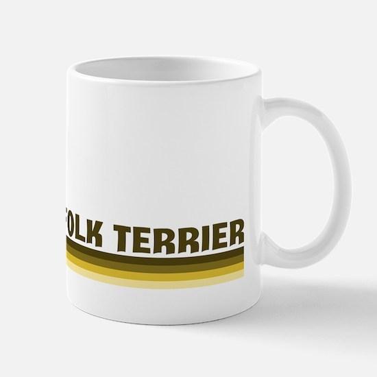 Norfolk Terrier (retro-blue) Mug