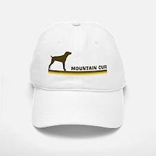 Mountain Cur (retro-blue) Baseball Baseball Cap