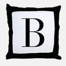 B-bod black Throw Pillow