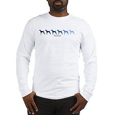Vizsla (blue color spectrum) Long Sleeve T-Shirt