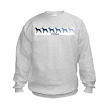 Vizsla (blue color spectrum) Sweatshirt