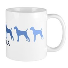 Vizsla (blue color spectrum) Small Mug