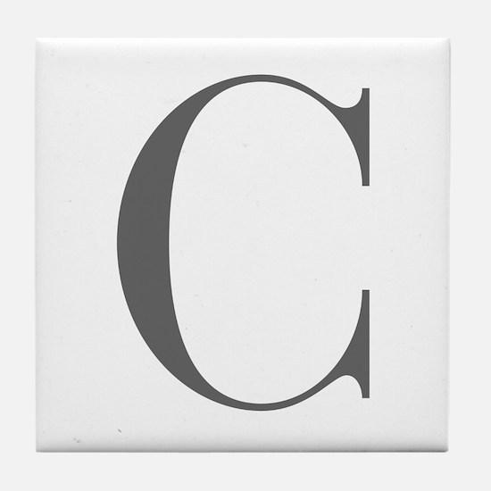 C-bod gray Tile Coaster