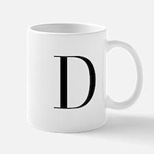 D-bod black Mugs