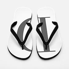 D-bod gray Flip Flops