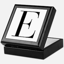 E-bod black Keepsake Box
