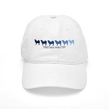 Tibetan Mastiff (blue color s Baseball Cap