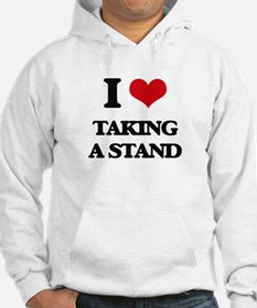 I love Taking A Stand Hoodie