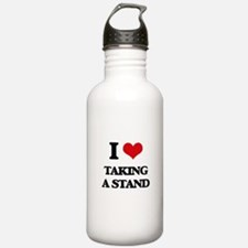 I love Taking A Stand Water Bottle