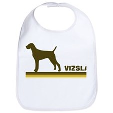 Vizsla (retro-blue) Bib