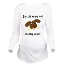 19 dog years 4 Long Sleeve Maternity T-Shirt