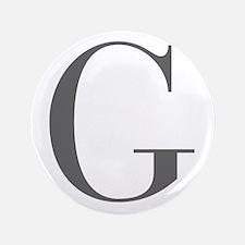 """G-bod gray 3.5"""" Button"""