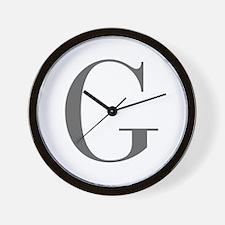 G-bod gray Wall Clock