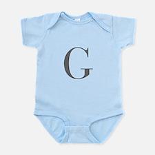 G-bod gray Body Suit