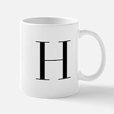 H-bod black Mugs