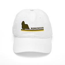 Komondor (retro-blue) Baseball Cap