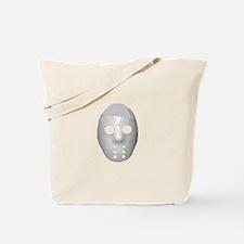 Halloween Hockey Mask Tote Bag
