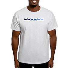 Skye Terrier (blue color spec T-Shirt