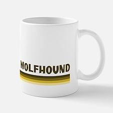 Irish Wolfhound (retro-blue) Small Small Mug