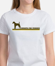 Smooth Fox Terrier (retro-blu Tee