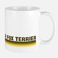 Smooth Fox Terrier (retro-blu Mug