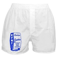 KFNF Sports Broadcast Boxer Shorts