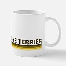 Skye Terrier (retro-blue) Mug
