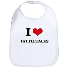 I love Tattletales Bib