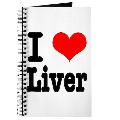 I Heart (Love) Liver Journal