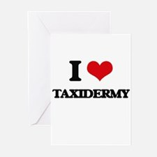 I love Taxidermy Greeting Cards