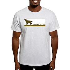 Gordon Setter (retro-blue) T-Shirt