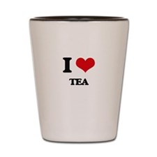 I love Tea Shot Glass