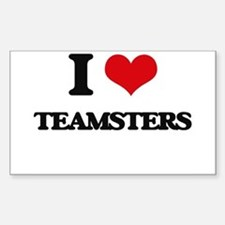 I love Teamsters Decal