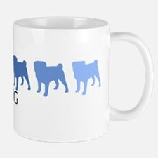 Pug (blue color spectrum) Mug