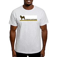 Finnish Lapphund (retro-blue) T-Shirt
