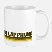 Finnish Lapphund (retro-blue) Mug