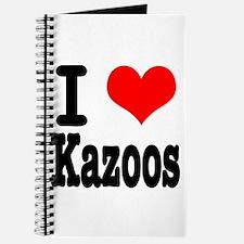 I Heart (Love) Kazoos Journal