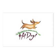 HOT DOG Postcards (Package of 8)