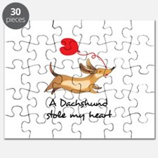 DACHSHUND STOLE MY HEART Puzzle