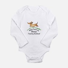 DACHSHUND BLESSINGS Body Suit
