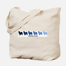 Papillon (blue color spectrum Tote Bag